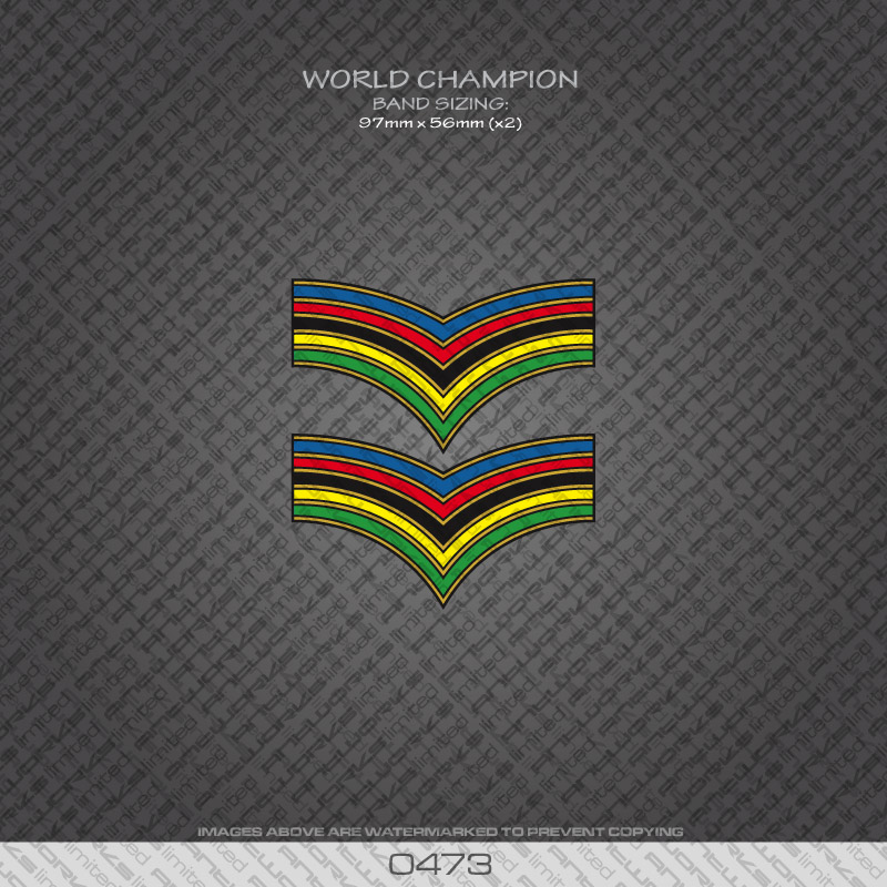 0473-World-Champion-Stripes-Bands-Bicycle-Decals-Stickers