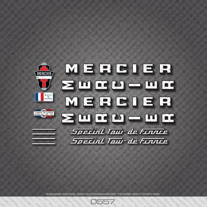 0557-Mercier-Special-Tour-De-France-Bicycle-Stickers-Decals-Transfers